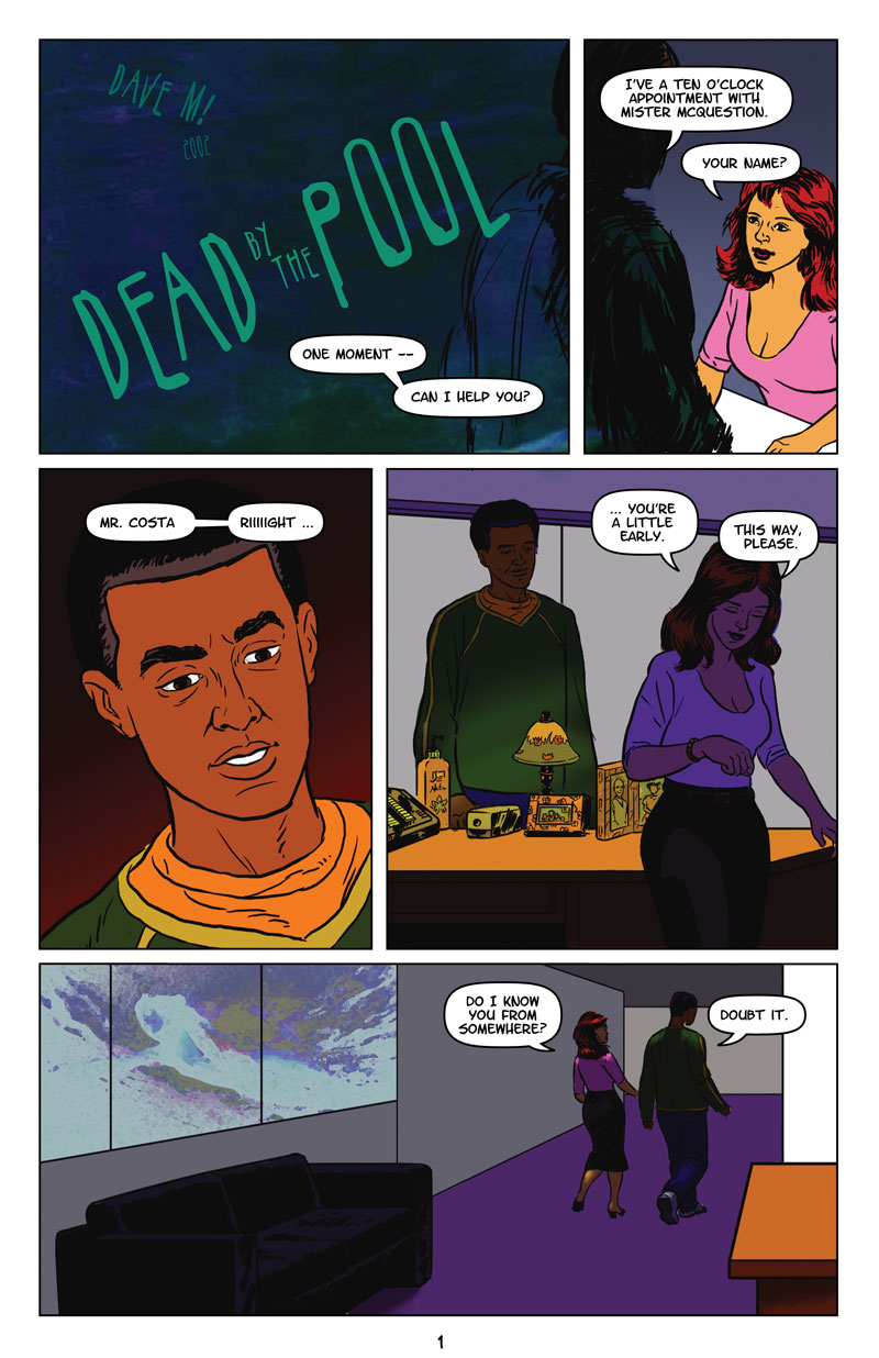page 1 of Dead by the Pool