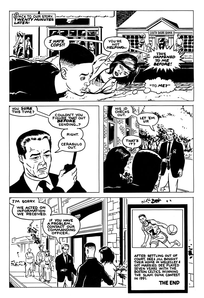 page 6 of Lucky Seven: The Dee Brown Incident