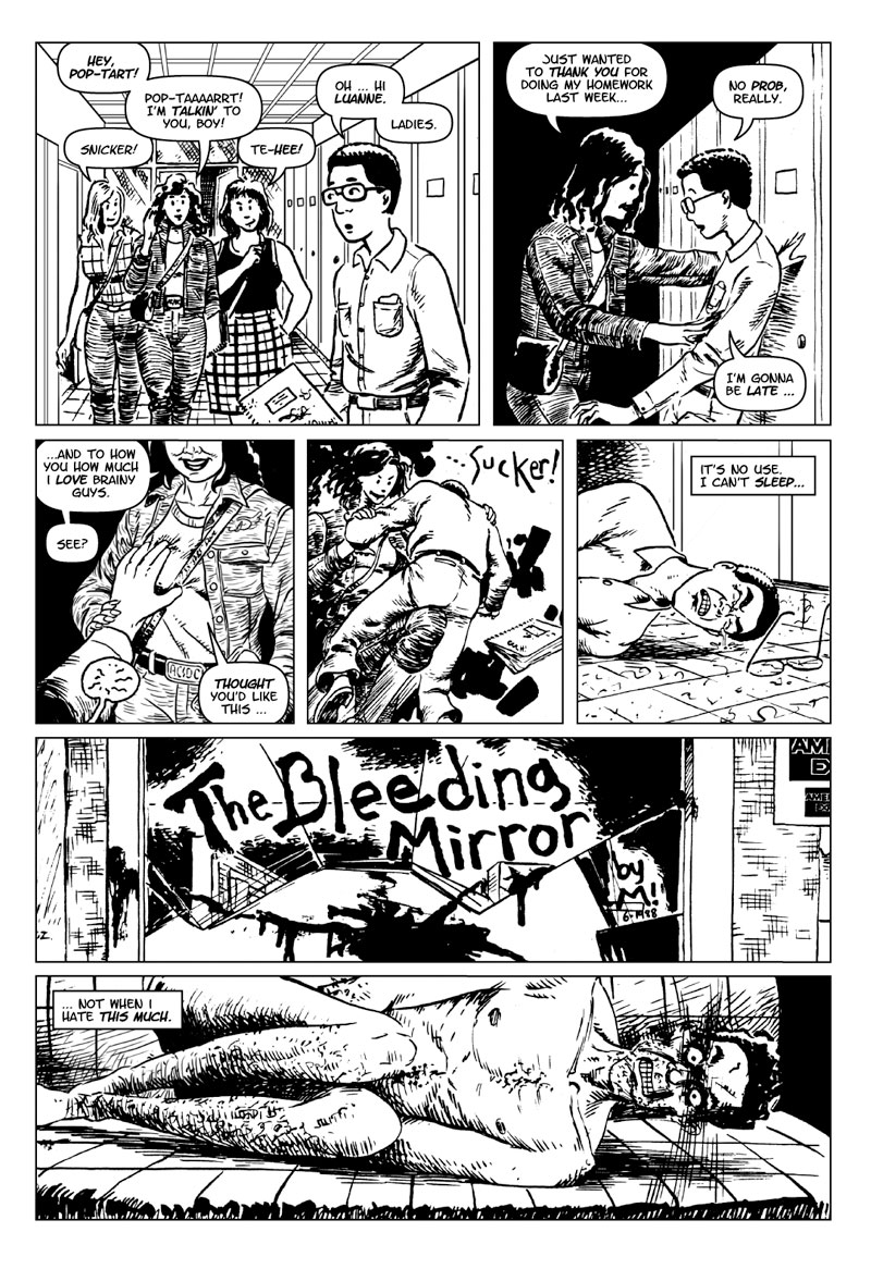 page 1 of The Bleeding Mirror