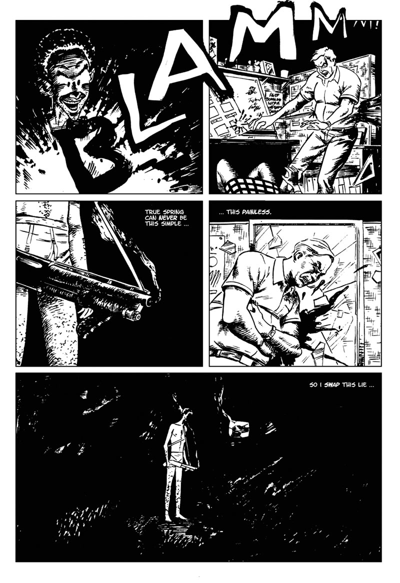 page 6 of The Bleeding Mirror