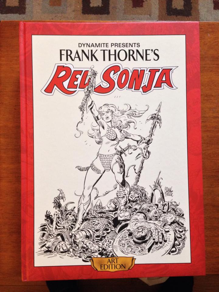 photo of Frank Thorne's Red Sonja (Art Edition)